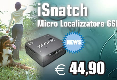 Localizzatore GSM iSnatch