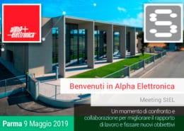 Meeting SIEL - ALPHA ELETTRONICA Parma 9 Maggio 2019